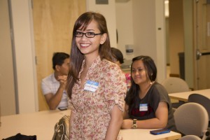 2014 MHIRT student Kriszel Guiang