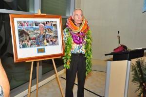 Dr. Cadman's aloha ceremony, 2009.