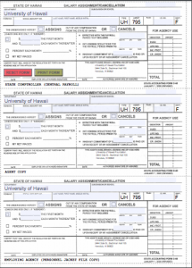 Salary Assignment Form Fillable PDF