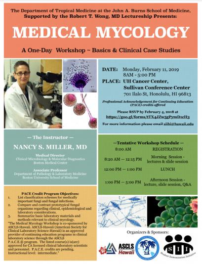 medical mycology workshop flyer