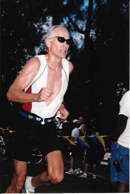 Dr. Cadman was a competitive runner.