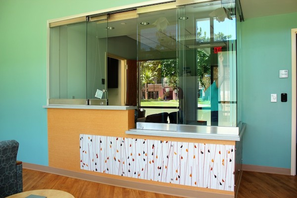 The UH Clinics at Kaka?ako Reception Area.