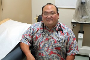 Pictured is Dr. Beau Nakamoto