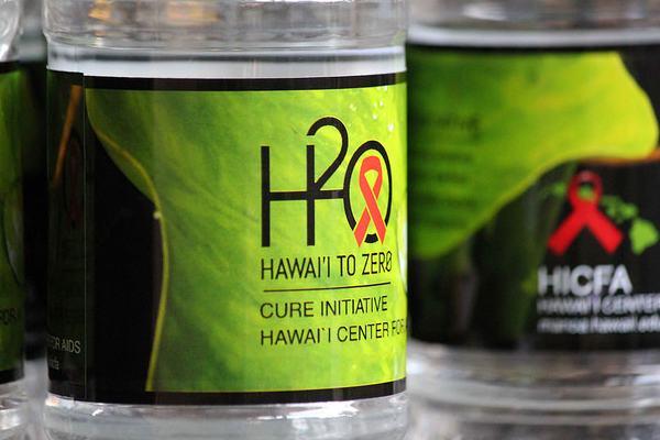 Logo for the Hawaii to Zero initiative to end AIDS.