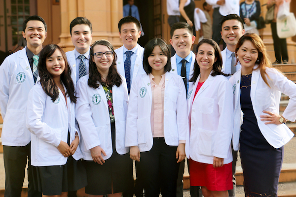 White Coat Ceremony Video welcoming 74 new MD students, including ...