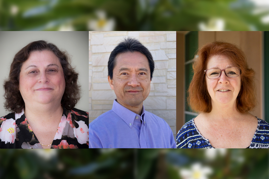 A graphic showing Dr. Gerschenson, Dr. Matsui and Dr. Thompson