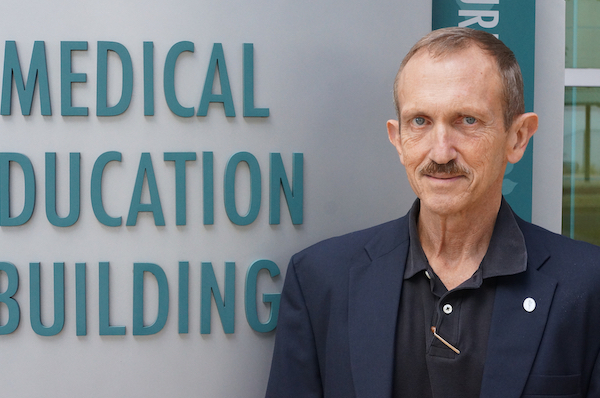 Dr. Haning is pictured
