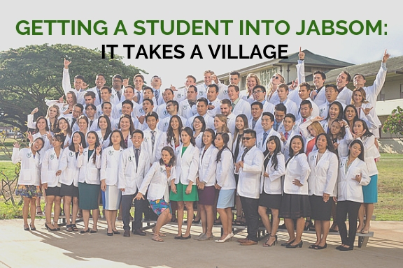 Getting a Student into JABSOM: It Takes a Village | John A
