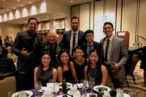 Dean and Students at the HMA event