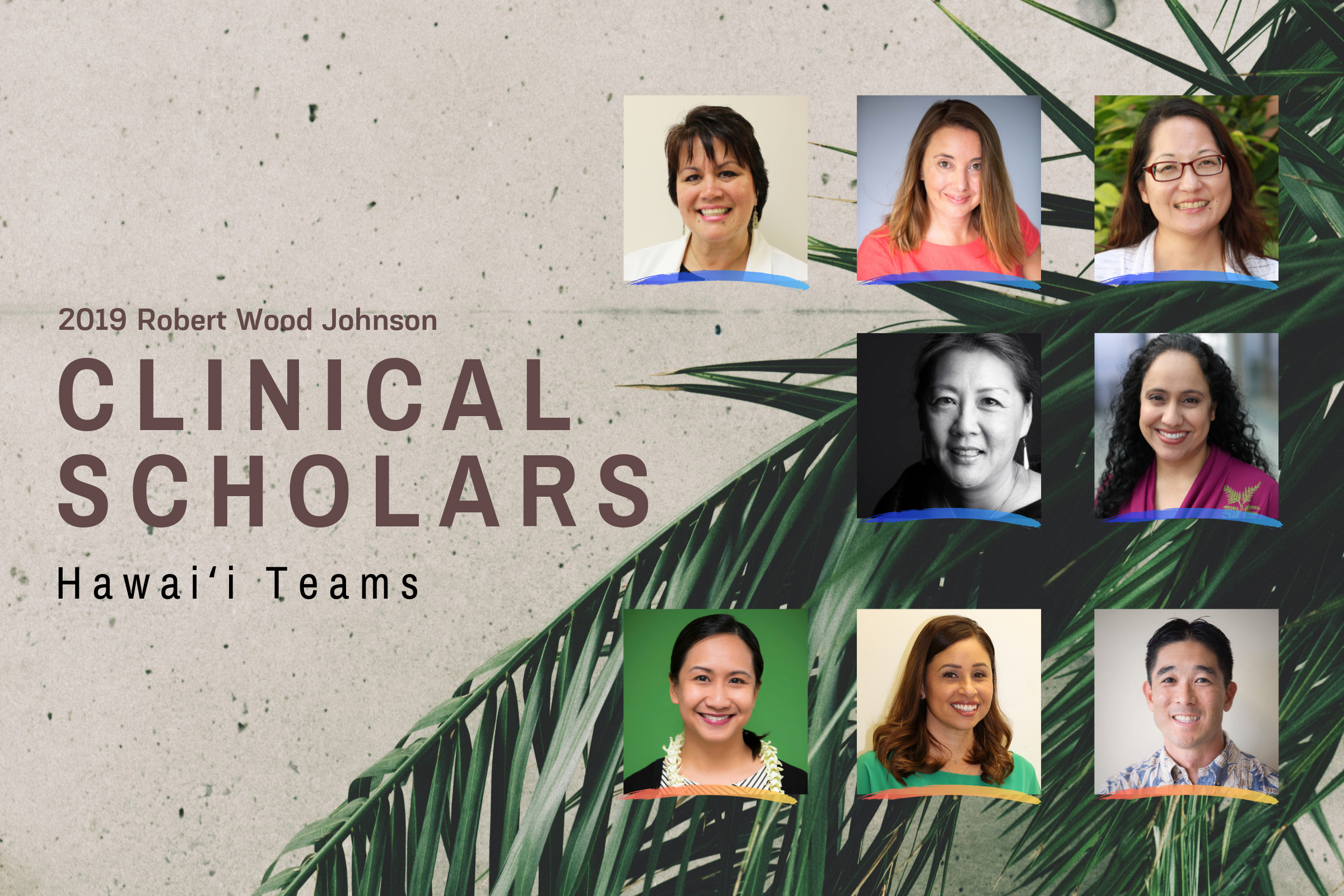 portraits of all clinical scholars