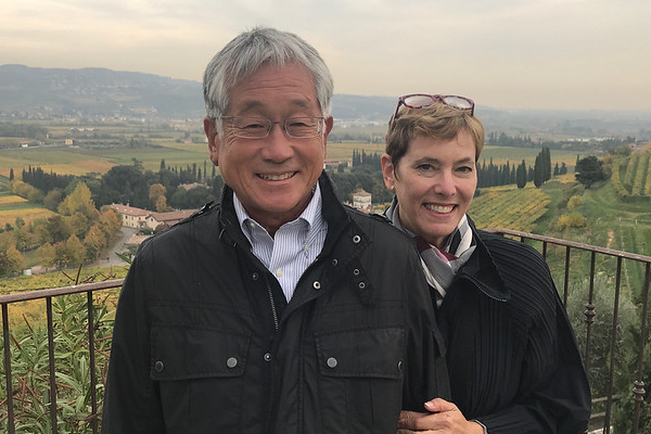 Robert and Heidi Hong