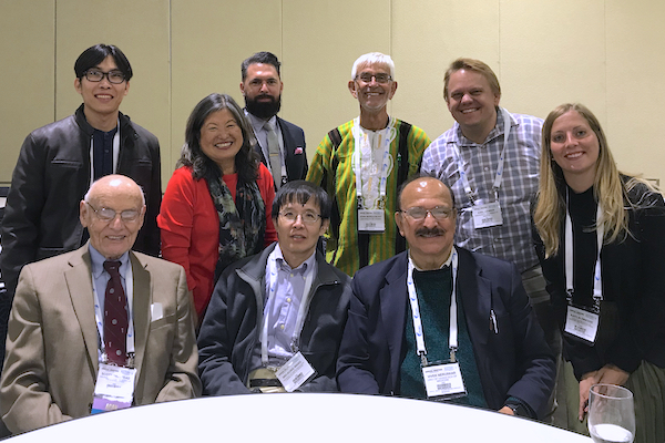 Dr. Scott Halstead and Tropical medicine faculty and students nd Students at ASTMH Nov 2019